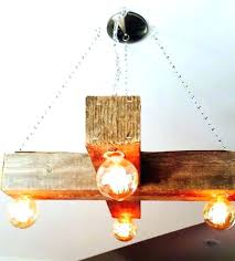 wood beam light fixture wood beam light fixture how to make a rustic hanging reclaimed wood