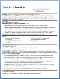 Electrical Engineer Resume Musiccityspiritsandcocktail Com
