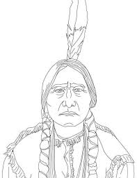 Small Picture American Indian Coloring Pages Realistic Coloring Pages For
