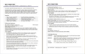 Healthcare Professional Resume Sample Healthcare It Resume Sample Monster Com