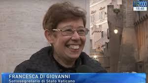 Vaticano, la nuova sottosegretario Francesca Di Giovanni a ...
