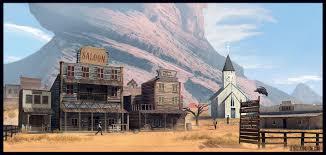 western scenes 3d art learning western scene update rpg art western and deadlands westerns scene and 3d