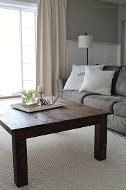 Diy rustic coffee table Amazing Learn How To Build This Rustic Wood Farmhouse Coffee Table At Lovegrowswildcom Click Love Grows Wild Diy Farmhouse Coffee Table Love Grows Wild