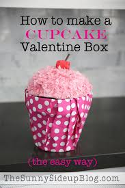 How To Decorate A Valentine Box How to make a Cupcake Valentine Box and other fun valentine ideas 60