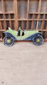 vintage midwest cast aluminum car wall decor wall hanging
