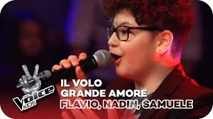 Il Volo - Grande amore (Flavio, Nadin, Samuele) | Battles | The Voice Kids  2018 | SAT.1 - YouTube in 2020