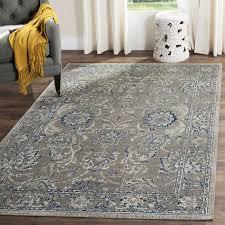 amazing dark gray area rug inside darby home co harwood cotton blue reviews wayfair
