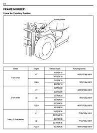 toyota diesel forklift 7fdau50 7fdku40 7fdu35 7fdu45 7fdu60 toyota fork truck 7fdf15 7fdf18 7fdf20 7fdf25 7fdf30 7fdj35 ops minilever service manual