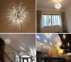 shabby chic bathroom lighting. Amazon GDNS Chandeliers Firework LED Light Stainless Steel Crystal Pendant Lighting Ceiling Fixtures Shabby Chic Bathroom