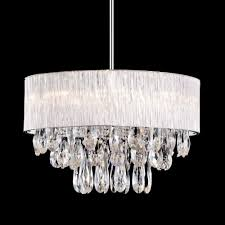 20 round ribbed glass shade crystal drop pendant ceiling fixture lightceiling lights
