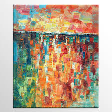 heavy texture painting canvas painting large canvas art impasto wall art on large wall art teal with heavy texture painting canvas painting large canvas art impasto