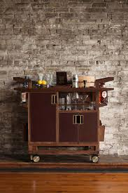 Industrial Bar Cabinet Kitchen Dining Wine Bar Cart Get Party Rolling From Kitchen