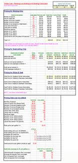 parking lot striping pricing and business spreadsheets stripecalc