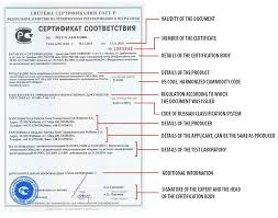 Example Of Share Certificate Best Gost R Certificate Of Conformity Certification Body SERCONS