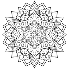 Mandala Coloring Pages for Adults for Android, iOS and Windows ...