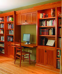 home office unit. This Is A Home-office/library Wall Unit, Made Of Solid Cherry And Plywood. Home Office Unit H