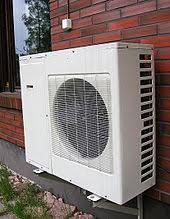 whole house ac units. Exellent Units An Example Of An Externally Fitted AC Unit Which Uses A Heat Pump System For Whole House Ac Units 0