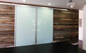 double wall slide doors