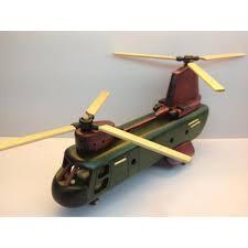 handmade wooden home decorative novel vintage helicopter model a