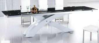 contemporary dining tables extendable modern expandable dining table modern extendable dining table with glass top and