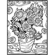 Immagini Di Immagini Quadri Van Gogh Da Colorare