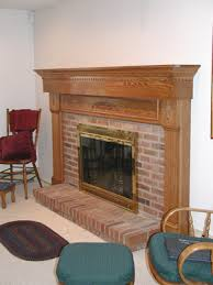 Wood fireplace mantels, mantel shelves