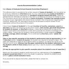 Letter Of Recommendation From Employer To College 44 Sample Letters Of Recommendation For Graduate School Doc Pdf
