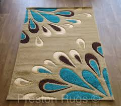 strikingly idea turquoise and brown area rugs 29