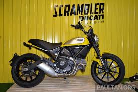 ducati scrambler launched in m sia 4 looks fr rm60k
