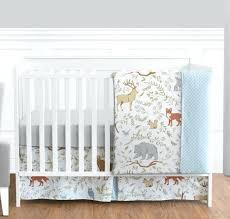 forest animals crib bedding sweet blue grey forest animal baby girl boy crib bedding set forest