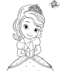 Coloriage A Imprimer Princesse Sofia Sage Gratuit Et Colorier