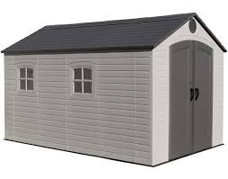 cheap garden sheds. Lifetime 8x12 Outdoor Storage Shed Kit W/ Floor Cheap Garden Sheds A