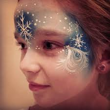 frozen face paint i need maybe a fading brush and a tiny brush