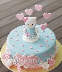 Hello Kitty Birthday Cake Food Drinks Baked Goods On Carousell
