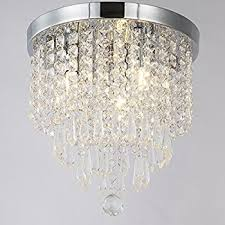 saint mossi chandelier modern k9 crystal raindrop chandelier crystal ceiling light fixtures flush mount