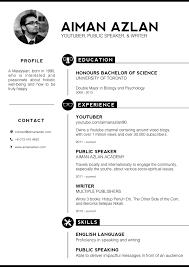 New Resume Styles Resume Template Ideas