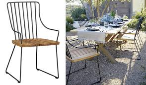 Modern Metal Patio Furniture View In Gallery Teak And Chairs Concept Ideas