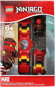 Lego Ninjago Sky Pirates Minifigure Link Watch for Children, Kai - 8020547:  Amazon.de: Uhren