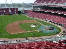 Reds Seating Chart Mezzanine Great American Ball Park Section 416 Cincinnati Reds
