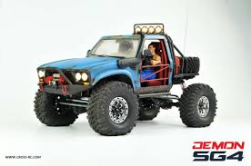 SG4B Demon 4×4 w Hard Body and Full Interior: 1/10 Scale 4WD Scaler ...