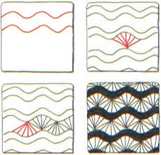 Zentangle Patterns Step By Step Interesting Travel Activity How To Zentangle Meditative Doodling Art A New