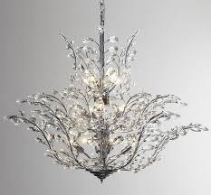 modern design tree branches crystal chandelier led light chrome re dinning room living room lights