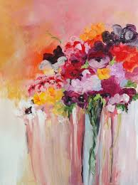 acrylic paintings flowers best painting 2018