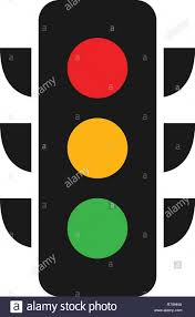 Graphic Traffic Light Traffic Light Logo Graphic Design Template Vector Stock