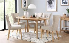 oval kitchen table and chairs. Suffolk Oval Oak Dining Table - With 4 Bewley Oatmeal Chairs Kitchen And E