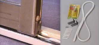Sliding Patio Door Track, Track for sliding patio doors