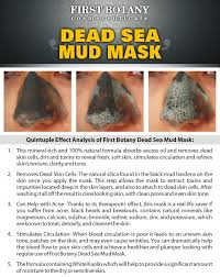 Amazon.com : 100% Natural Mineral-Infused Dead Sea Mud Mask 8.8 oz ...