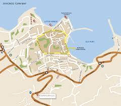 mykonos  map of mykonos town mykonos beaches sightseeing