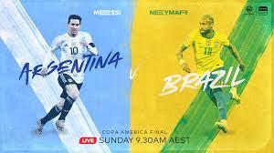 2021 Copa America final: Argentina v ...