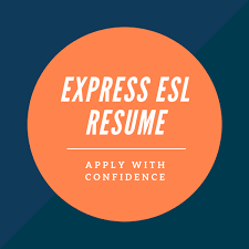 Express Esl Resume